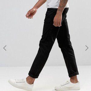 Levi's 504 dark grey jeans